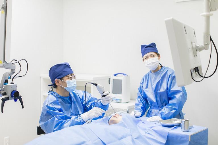 アレルギー性鼻炎の手術【日帰り】